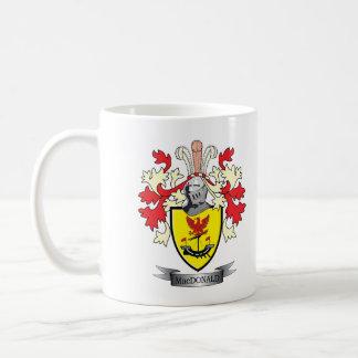 Caneca De Café Brasão da crista da família de MacDonald