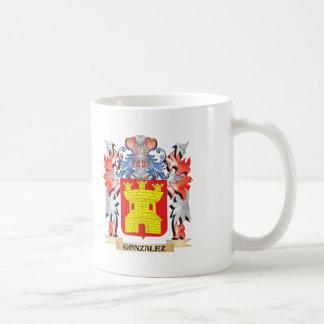 Caneca De Café Brasão de Gonzalez - crista da família