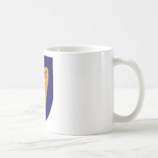 Caneca De Café Brasão de Ireland - emblema irlandês