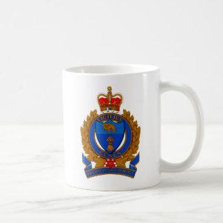 Caneca De Café Brasão do serviço policial de Regina