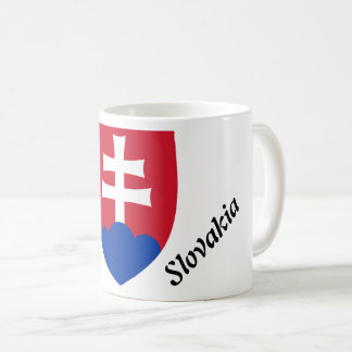 Caneca De Café Brasão eslovaca