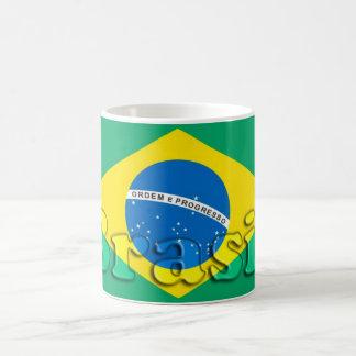 Caneca De Café Brasil