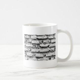 Caneca De Café Brickwall rústico