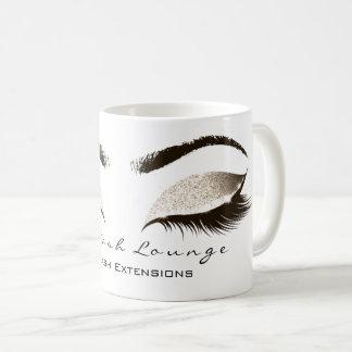 Caneca De Café Brilho do Lux do marfim do estúdio da beleza da