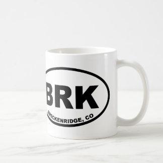 Caneca De Café BRK Breckenridge
