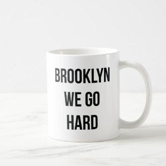 Caneca De Café Brooklyn nós vamos duro