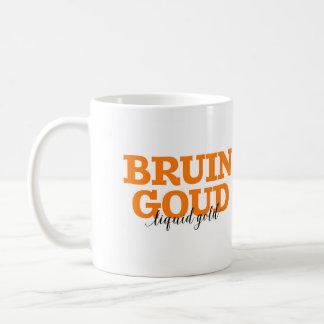Caneca De Café Bruin Goud/vocabulário holandês da palavra ouro