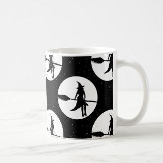Caneca De Café bruxa do Dia das Bruxas