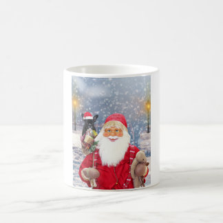 Caneca De Café Buldogue francês dos presentes do Natal de Papai