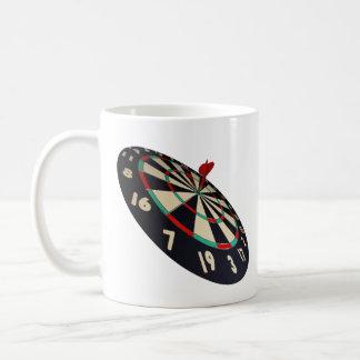 Caneca De Café Bullseye do destino dos dardos,