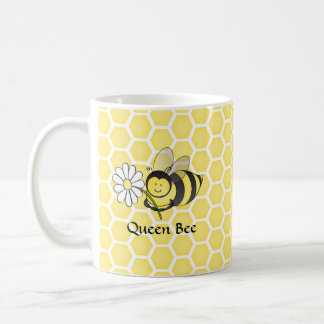 Caneca De Café Bumble a abelha com margarida