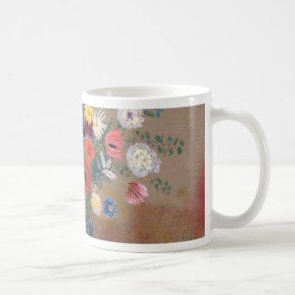 Caneca De Café Buquê das flores - Odilon Redon