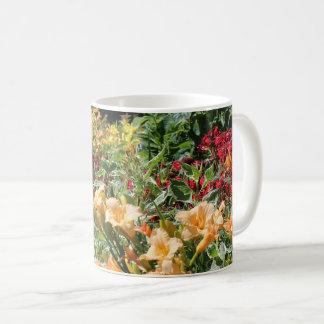 Caneca De Café Buquês do jardim do verão!