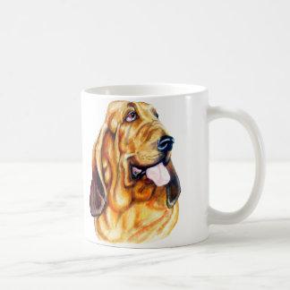 Caneca De Café Busto do Bloodhound