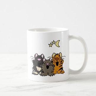 Caneca De Café C.A. gatos impressionantes do canto