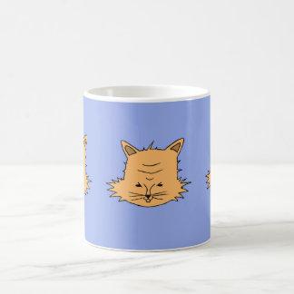Caneca De Café Cabeça de gato gracioso