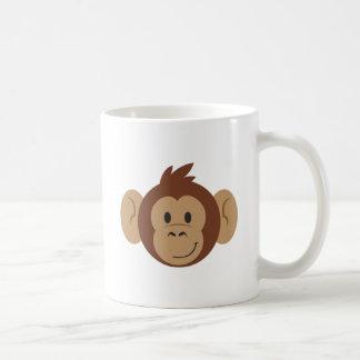 Caneca De Café Cabeça do macaco