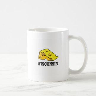 Caneca De Café Cabeça do queijo de Wisconsin