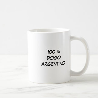 Caneca De Café Cabeza, 100% DogoArgentino