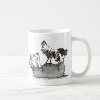 Caneca De Café Cabra e galinha de desmaio