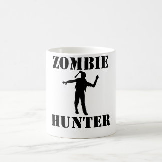 Caneca De Café Caçador do zombi