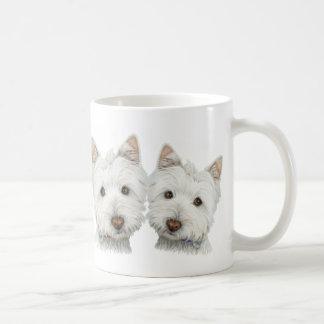 Caneca De Café Cães bonitos de Westie