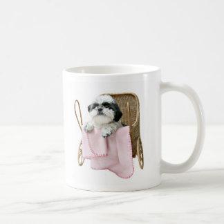 Caneca De Café Cães do carrinho de bebê