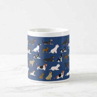 Caneca De Café Cães pequenos taça
