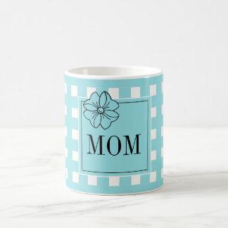 CANECA DE CAFÉ CAFÉ CHIQUE MUG_PRETTY PARA MOM_BLUE