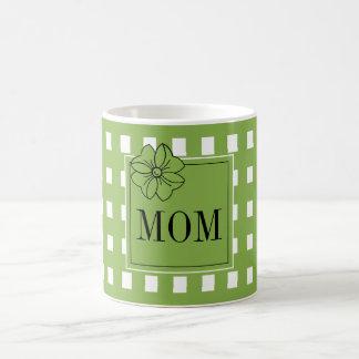 CANECA DE CAFÉ CAFÉ CHIQUE MUG_PRETTY PARA MOM_GREENERY