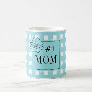 CANECA DE CAFÉ CAFÉ CHIQUE MUG_PRETTY, PARA SEU #1 MOM_BLUE