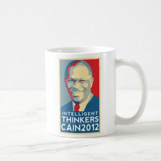 Caneca De Café Café com pensadores inteligentes