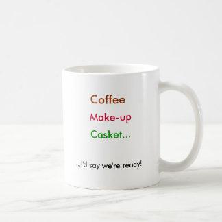 Caneca De Café Café, composição, caixão…,… eu diria que nós somos