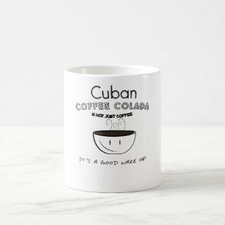 Caneca De Café café cubano colada.