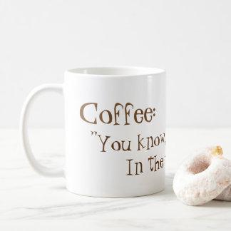 Caneca De Café Café da manhã!