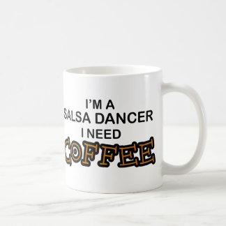 Caneca De Café Café da necessidade - dançarino da salsa