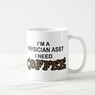 Caneca De Café Café da necessidade - médico Asst