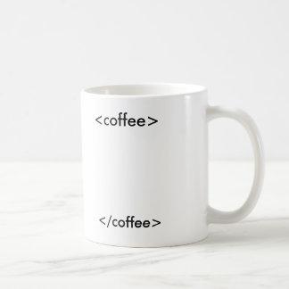Caneca De Café café do HTML