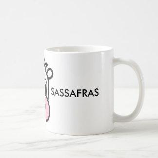 Caneca De Café Café do Sassafras da framboesa/caneca do chá