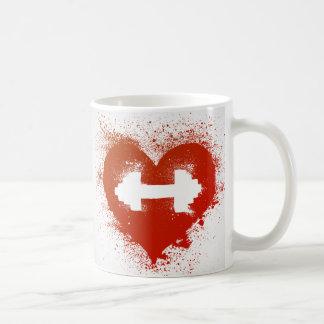 Caneca De Café Café & ganhos do amor