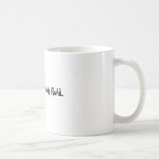 Caneca De Café Café, líquido da ruptura do N.