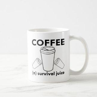 Caneca De Café Café (n) suco da sobrevivência