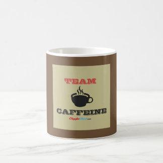 Caneca De Café Cafeína da equipe