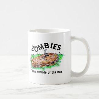 Caneca De Café Caixa do zombi