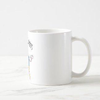 Caneca De Café Calças extravagantes