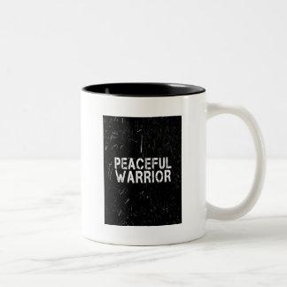Caneca de café calma do guerreiro