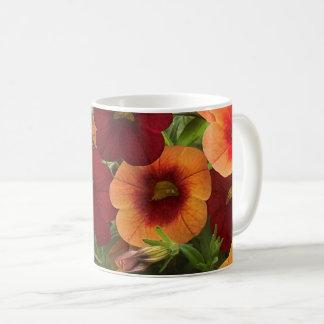 Caneca De Café Calor de The Sun floral