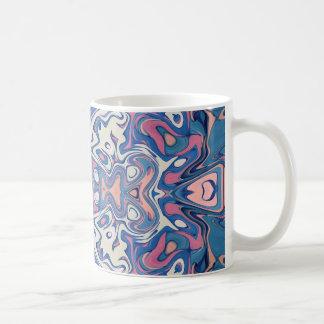Caneca De Café Camadas caóticas coloridas