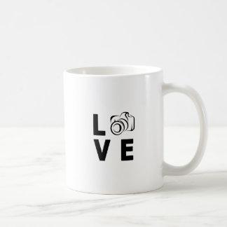 Caneca De Café câmera e amor