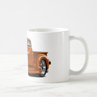 Caneca De Café Caminhão 1950-52 da laranja de Chevy
